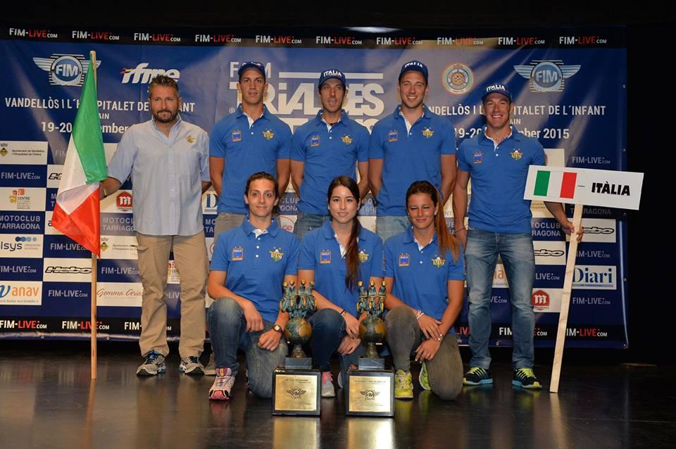 Squadra italiana trial nazioni