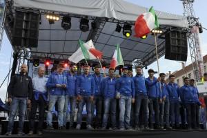 La Maglia Azzurra Enduro sul palco dell'ISDE 2015